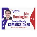 Political Campaign Flyer
