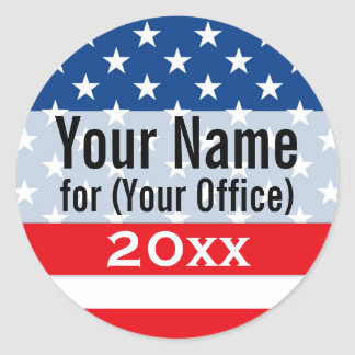 Campaign Stickers Zazzle - Custom vinyl stickers for walls   for your political campaign