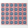 Political Campaign - Patriotic Stars and Stripes Wrapping Paper