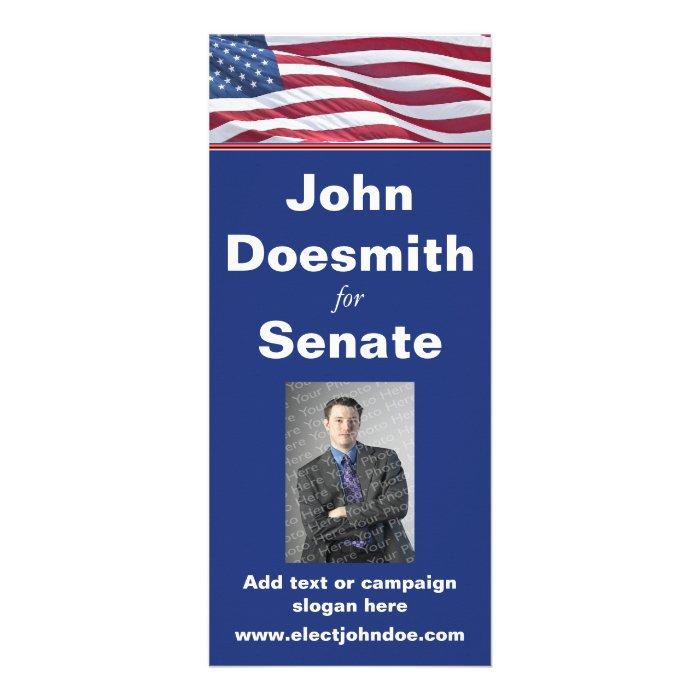 Political Campaign Rack Card Template