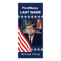 Political Campaign Template Rack Card