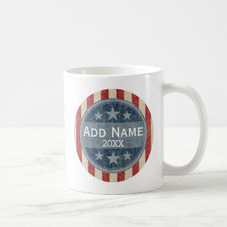 Political Campaign - vintage stars and stripes Coffee Mug