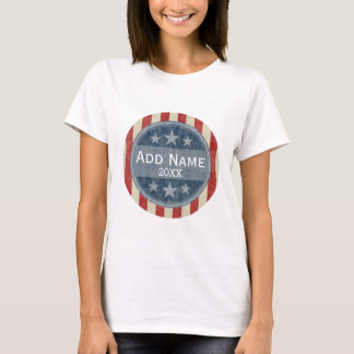 Political Campaign - vintage stars and stripes T-Shirt