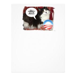 Political Cat Humor Letterhead