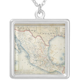 Political Chart Silver Plated Necklace