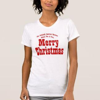 Political Christian Merry Christmas Shirts