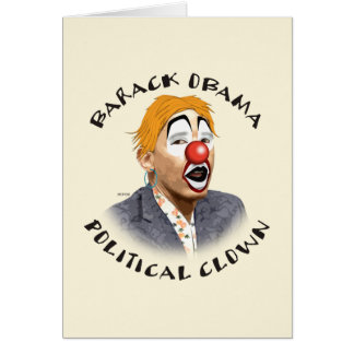 Political Clown Card