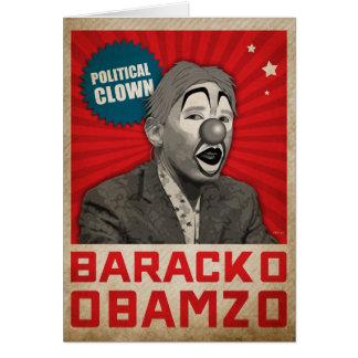 Political Clown Card