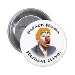 Political Clown Pin