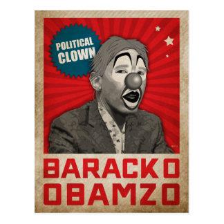 Political Clown Postcard