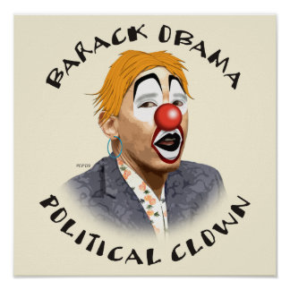 Political Clown Posters