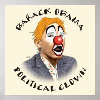 Political Clown Poster