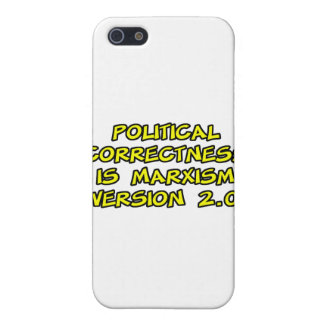 political correctness is marxism version 2.0 iPhone 5/5S cases