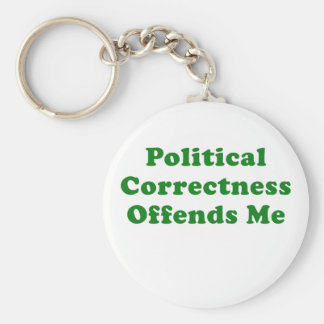Political Correctness Offends Me Keychain