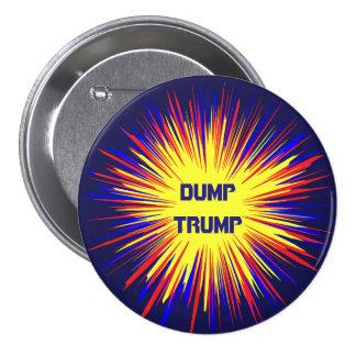 Political Dump Trump Round Button