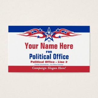 Political Election Campaign Card - Democrat