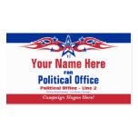 Political Election Campaign Card - Republican Business Card