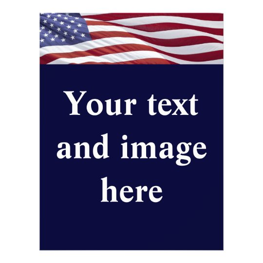Political Election Campaign Flyer Template | Zazzle