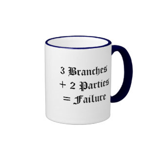 Political Failure Coffee Mug