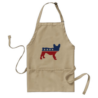 Political Frenchie Apron