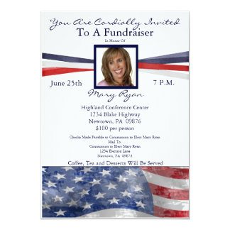 Political Invitations & Announcements | Zazzle