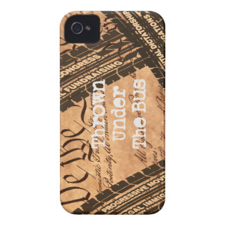 political humor gifts iPhone 4 Case-Mate cases