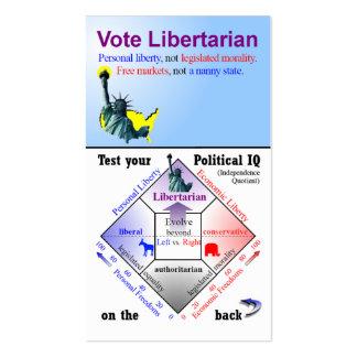 Political IQ Campaign Card Business Card Templates