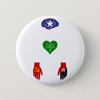 Political issues pinback button