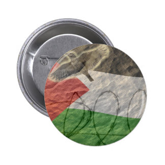 political items, basque / palesinian button