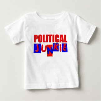 Political Junkie Baby T-Shirt