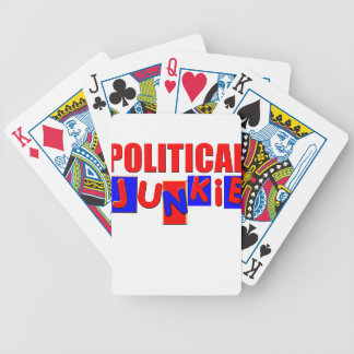 Political Junkie Bicycle Playing Cards