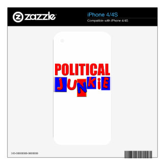 Political Junkie iPhone 4S Skins