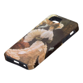 Political Lady by James Tissot, Vintage Victorian iPhone 5 Covers