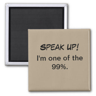 Political Magnet - I'm one of the 99%