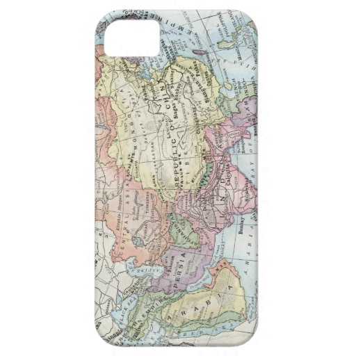 Political Map of Asia (1916) iPhone SE/5/5s Case