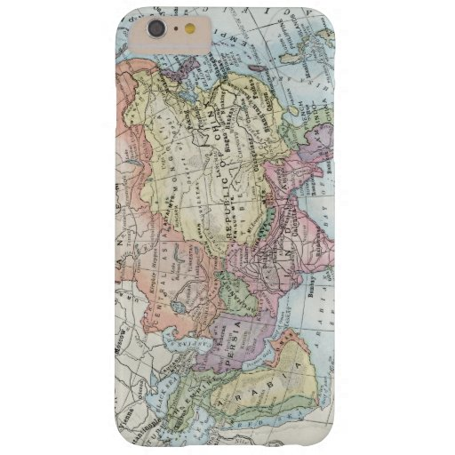 Political Map of Asia (1916) Barely There iPhone 6 Plus Case