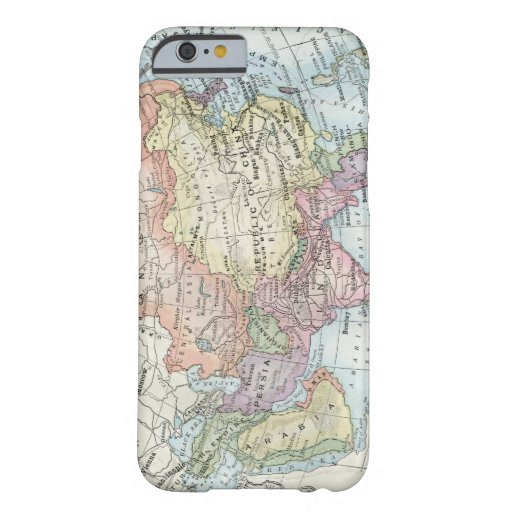 Political Map of Asia (1916) Barely There iPhone 6 Case