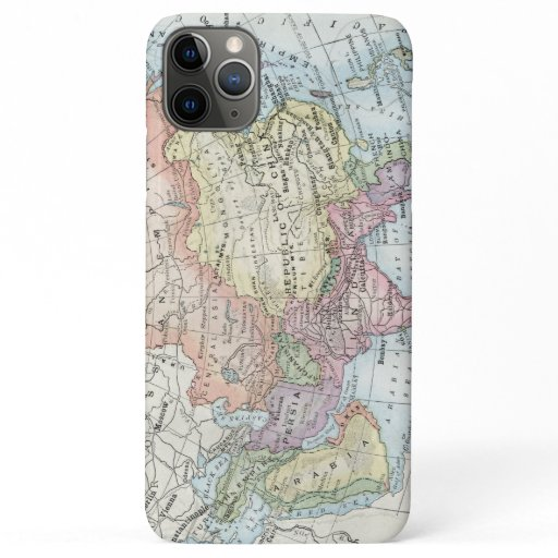 Political Map of Asia (1916) iPhone 11 Pro Max Case