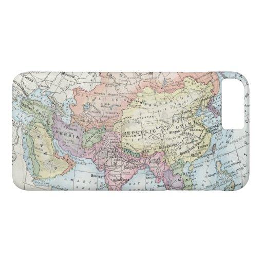 Political Map of Asia (1916) iPhone 8 Plus/7 Plus Case