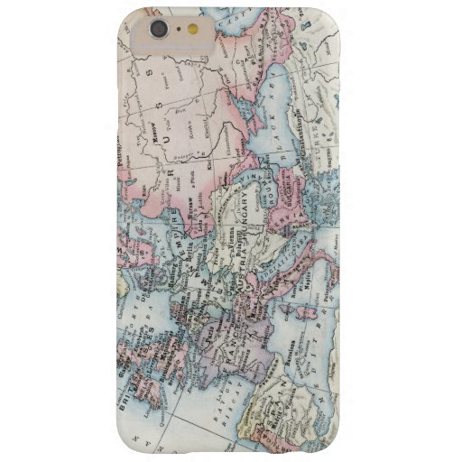 Political Map of Europe (1916) Barely There iPhone 6 Plus Case