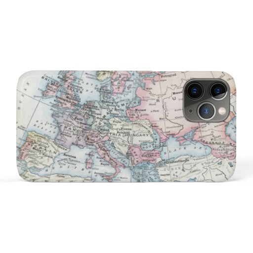 Political Map of Europe (1916) iPhone 11 Pro Case