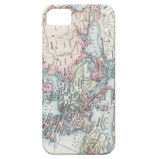 Political Map of Europe (1916) iPhone SE/5/5s Case