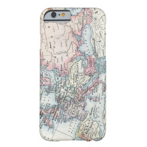 Political Map of Europe (1916) Barely There iPhone 6 Case