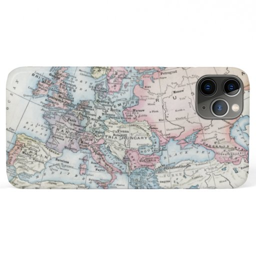 Political Map of Europe (1916) iPhone 11 Pro Max Case