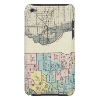 Political map of Illinois iPod Touch Case