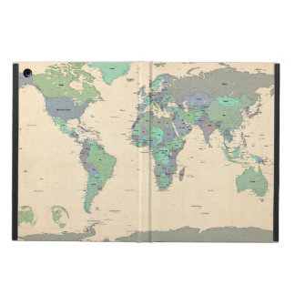 Political Map of the World Map iPad Air Case