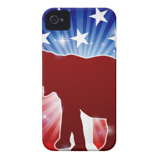 Political Mascot Republican Elephant Case-Mate iPhone 4 Case