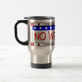 Political 15 Oz Stainless Steel Travel Mug