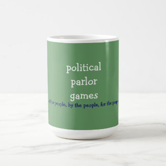 political parlor games mugs