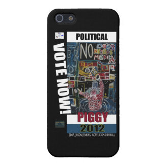 POLITICAL PIGGY COVER FOR iPhone SE/5/5s